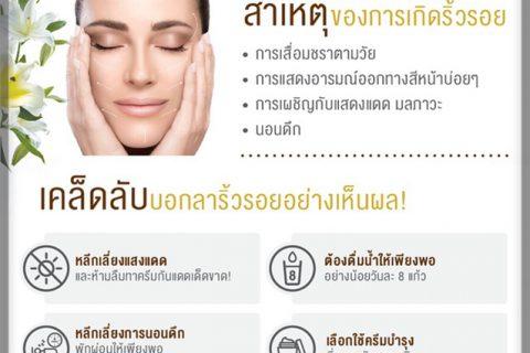 6 เคล็ดลับ บอกลาริ้วรอย คืนความอ่อนเยาว์ โดยแพทย์ความงามชื่อดังของเมืองไทย