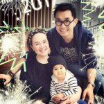 #ทาทา ยัง ร้อง #จะบอกเธอว่ารัก เป็นของ #ขวัญชิ้นแรก ให้ #เร  ในโอกาสครบ #ขวบปีแรก ของลูกชาย