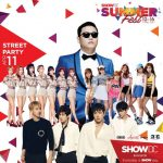 PSY CNBLUE  APINK และ AOA ชวนร่วมงาน SHOW DC GRAND OPENING SUMMER FEST 2017 :  Everyday is SHOW day ""