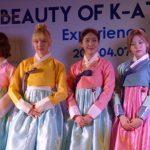 """GFRIEND @ """"Beauty of K-Attire : Hanbok, Experience it! Share it!"""""""