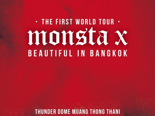 MONSTA X THE FIRST WORLD TOUR BEAUTIFUL IN BANGKOK ถึง MONBEBE ไทยทั่วกัน!!
