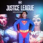 """คอสเพลย์สุดอลังการ เอส เอฟ จัดรอบพิเศษ  """"Justice League จัสติซ ลีก"""" เซเลบชื่อดังตบเท้าร่วมงานคับคั่ง"""