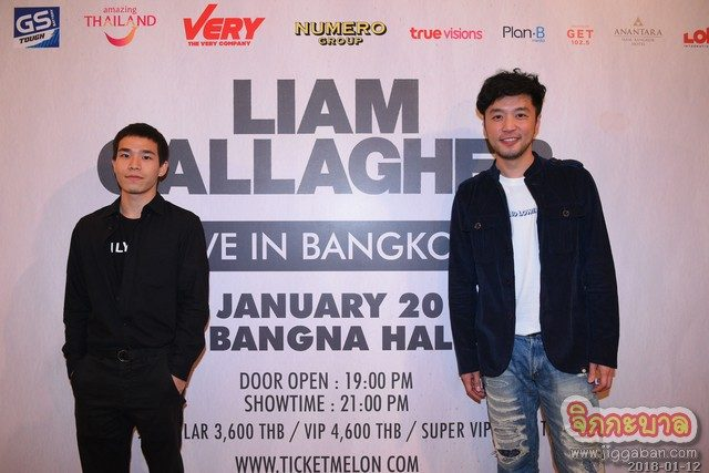 คอนเสิร์ต LIAM GALLAGHER LIVE IN BANGKOK