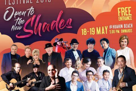 Hua Hin International Jazz Festival 2018:  Open To The New Shades