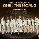 เขย่าโลกให้สั่นสะเทือนไปกับคอนเสิร์ตสุดยิ่งใหญ่แห่งปีที่ทุกคนรอคอย! 'WANNA ONE WORLD TOUR  IN BANGKOK' 9 มิถุนายนนี้่