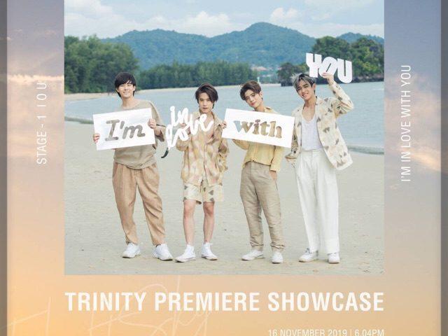 """สะเทือนวงการ T-POP """"TRINITY"""" บอยกรุ๊ปทีมชาติไทย ประกาศ PREMIERE SHOWCASE ครั้งแรก 3 รอบรวด!!"""