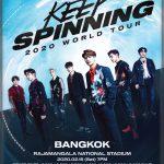 เพิ่มโซน GOT7 2020 WORLD TOUR ทั้ง 2 รอบการอบการแสดง เอาใจอากาเซ