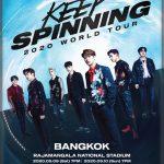 GOT7 ประกาศแจ้งรอบการแสดงใหม่!! GOT7 2020 WORLD TOUR 'KEEP SPINNING' IN BANGKOK
