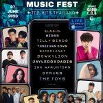 """รวมศิลปินฮิตมากที่สุดแห่งยุคใน """"Online Music Festival Top Hits Thailand"""""""