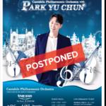 """เลื่อนจัดคอนเสิร์ต """"2020 Cantabile Philharmonic Orchestra with Park Yu Chun"""""""